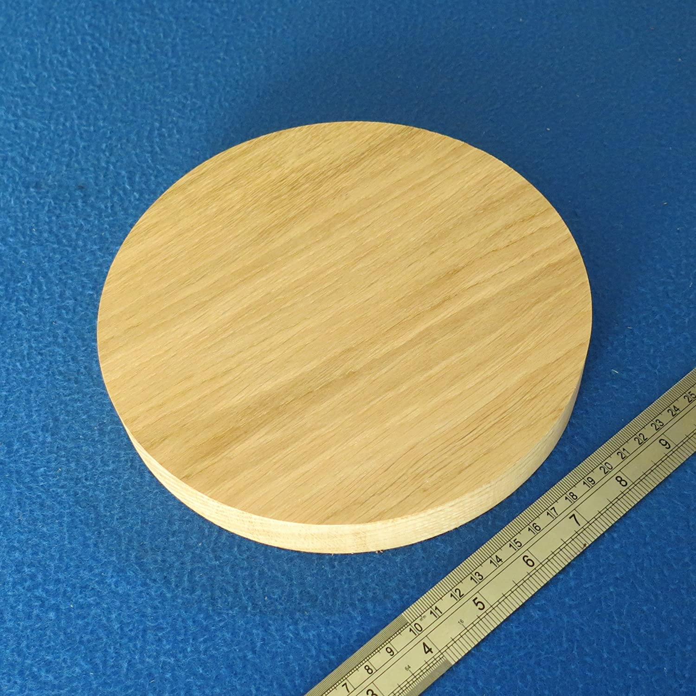 "150 mm WOODEN BLOCKS BUNDLE SET PINE WOOD NATURAL DISCS LOT of 7 CIRCLE 6.0/"""