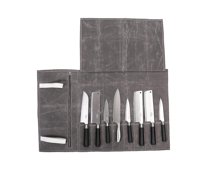 Compra Bolsa de almacenamiento para cuchillos de lona ...