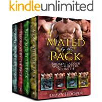 Mated By The Pack: Broken Ladder Wolf-shifters Books 1-4 Box Set