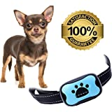 Bark Collar (Small Dogs Medium Dogs Large Dogs) No Bark Collar, Dog Training Device, Smallest & Most Safe On Amazon - Harmless/No Shock/No Spiky Prongs