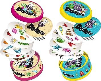 Asmodee Dobble Junior, Multicolor, Norme (3558380052951 ...