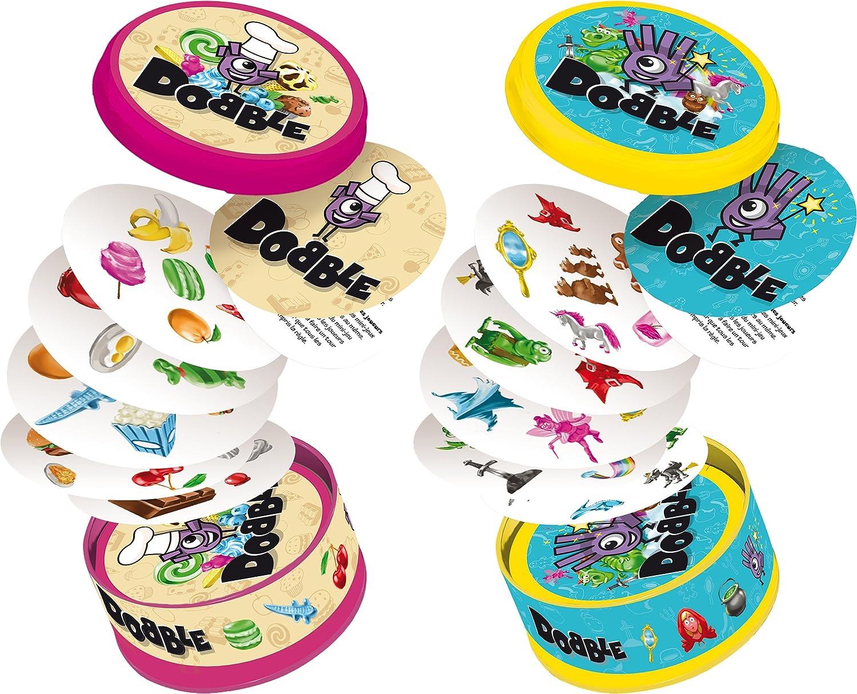 Asmodee Dobble Junior - Juegos de Cartas (4 año(s), 5 min, 15 min, 30 Pieza(s)): Amazon.es: Juguetes y juegos