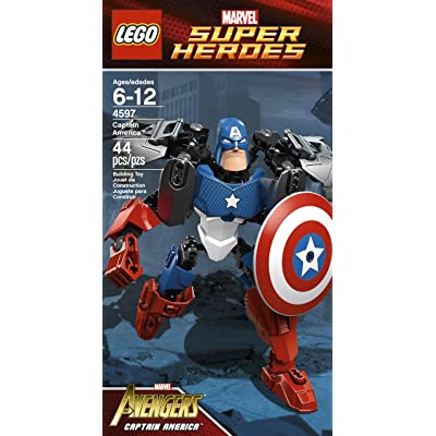 LEGO Super Heroes Captain America 4597: Toys & Games