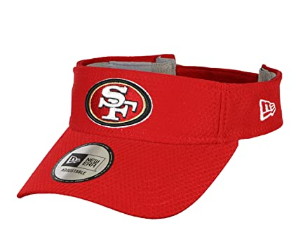 super popular df68c 34be2 New Era Men s San Francisco 49ers Training Visor One Size Red