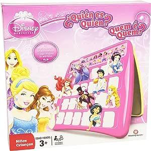 Disney Princesas Quién es Quién?, Juego de Mesa (Eleven Force 82295): Amazon.es: Juguetes y juegos