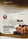 Quest Nutrition Protein Bar Chocolate Chip Cookie Dough, 720 Gram