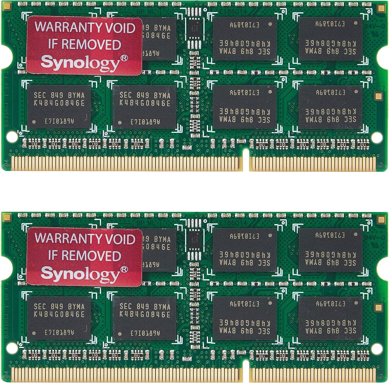 Synology RAM1600DDR3L-8GBX2 Ram Ddr3L-1600 Network Attached Storage