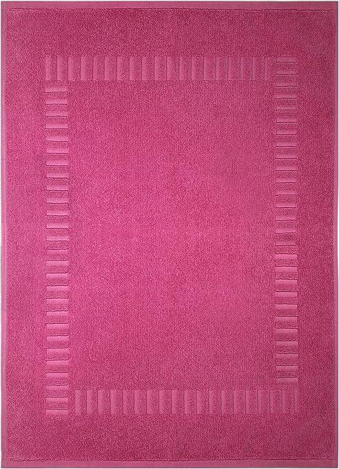Lashuma - Alfombrilla de baño, de ducha, 100% algodón, rizo, Pure ...