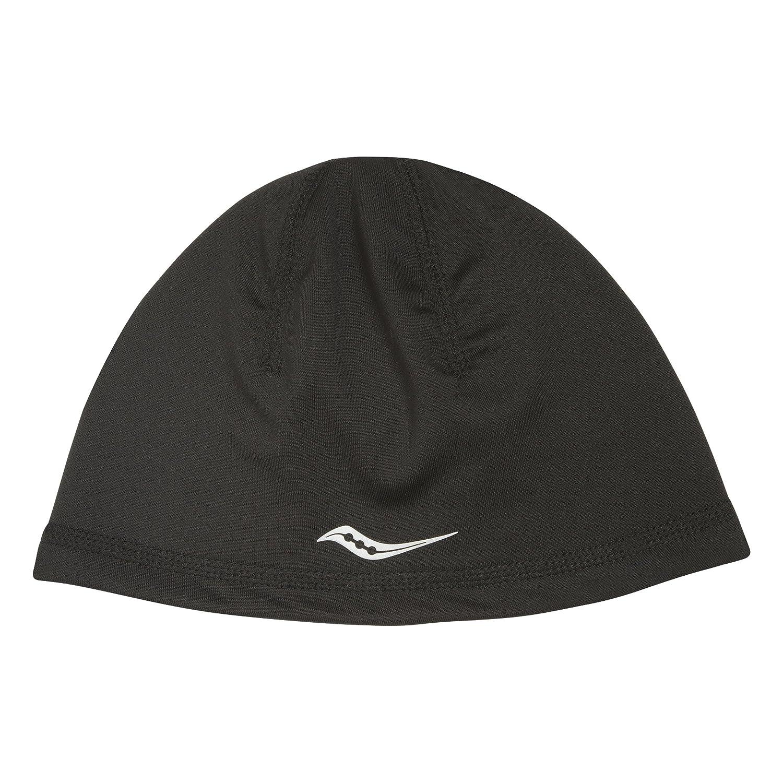 Saucony Omni Ponytail Skull Cap, One Size, Black Print Saucony Apparel SA90514