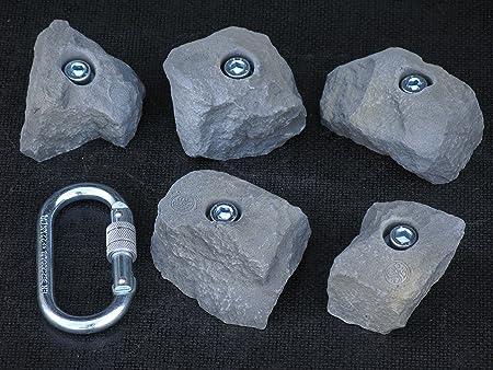 Mangart KS 236-240 - Juego de agarres de escalada (5 unidades ...