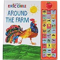 World of Eric Carle, Around the Farm 30-Button Sound Book - PI Kids