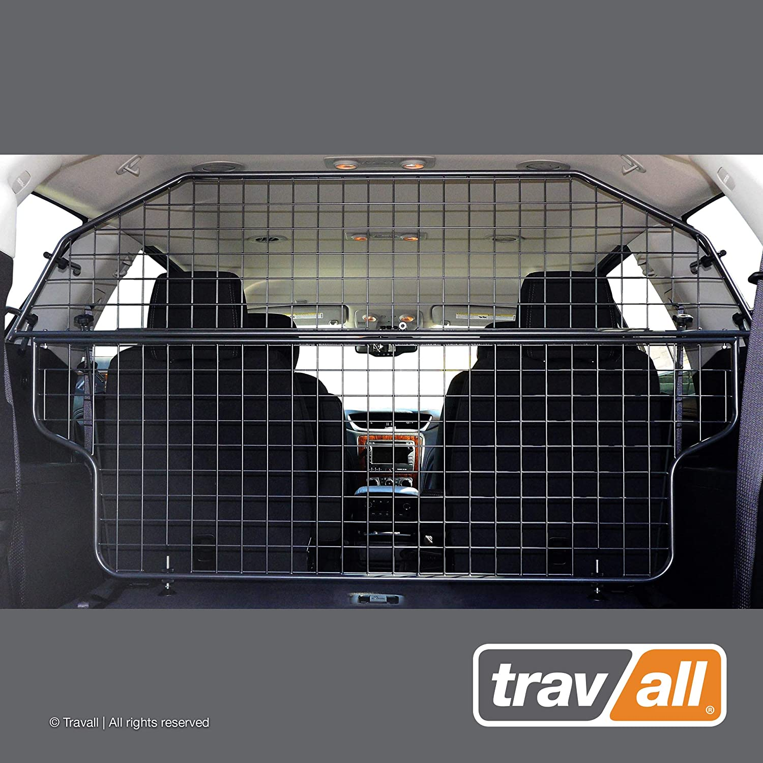 Travall Guard Compatible with Chevrolet Traverse 2012-2017 TDG1437 – Rattle-Free Steel Pet Barrier