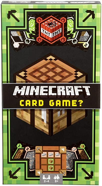 Amazoncom Mattel Games Minecraft Card Game Toys Games - Minecraft spiele original