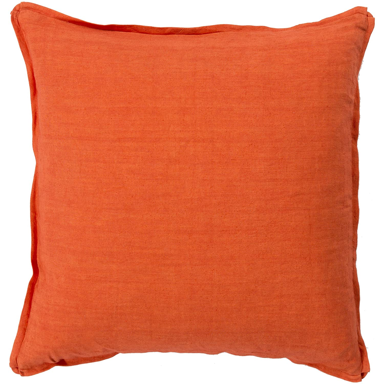Surya Rug SL003-2222D Square Poppy Down Feathers Pillow 22 in.   B00H2KBIQ6