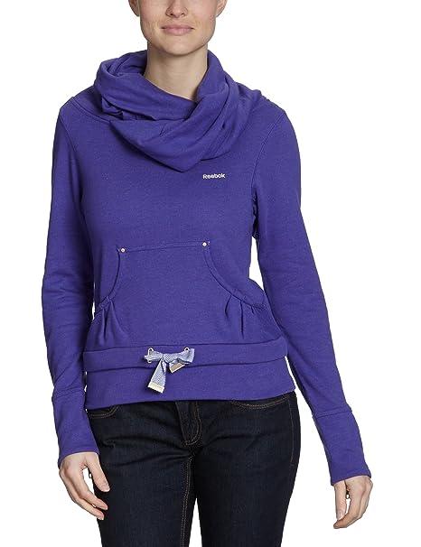 Reebok Premium - Sudadera para Mujer, tamaño XS, Color Team Morado