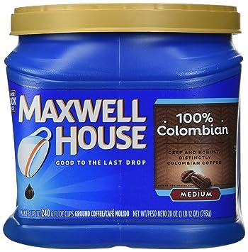Maxwell House 100 Colombian Medium Ground Coffee 28