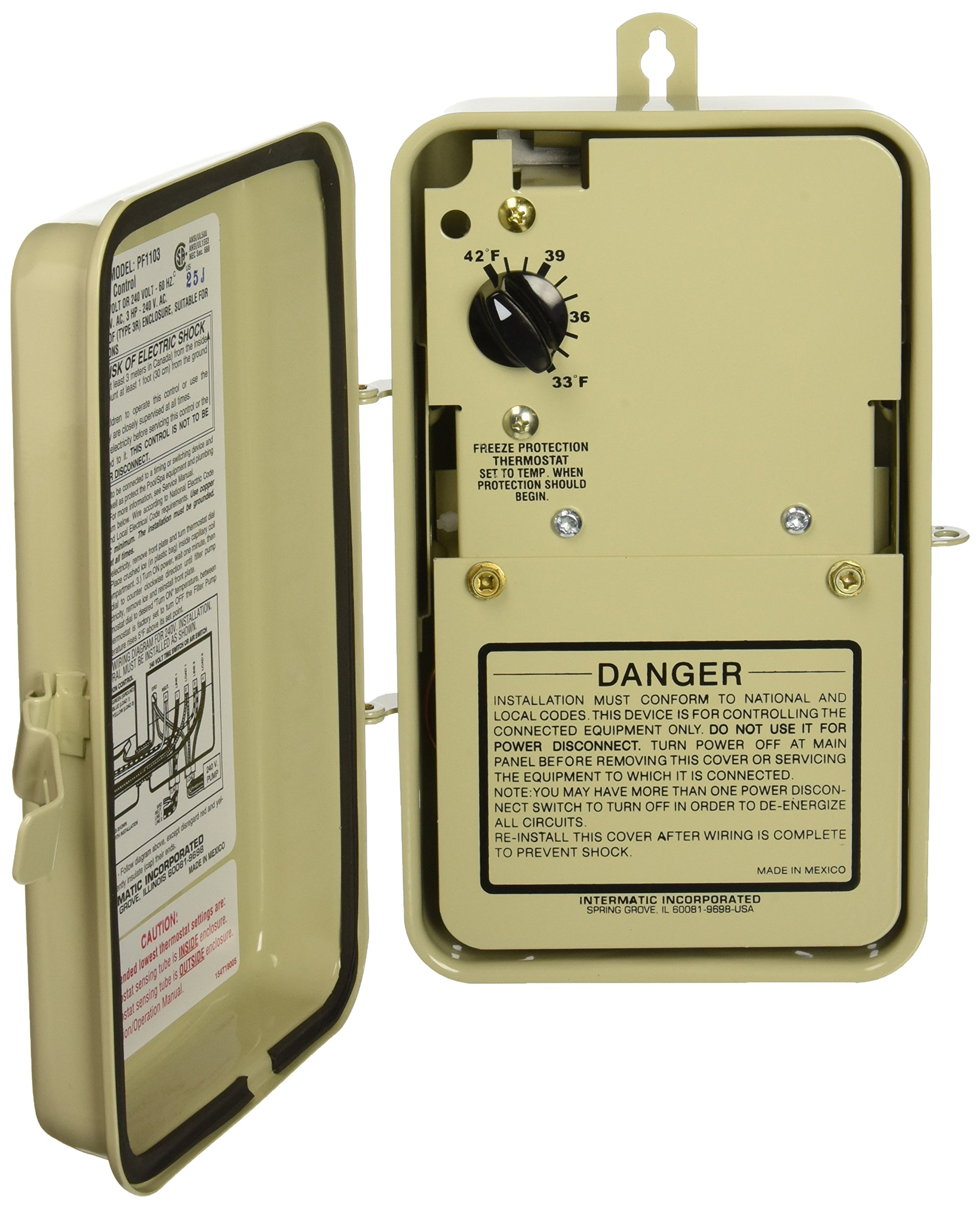 Intermatic PF1103 Freeze Protection Control, Beige by Intermatic