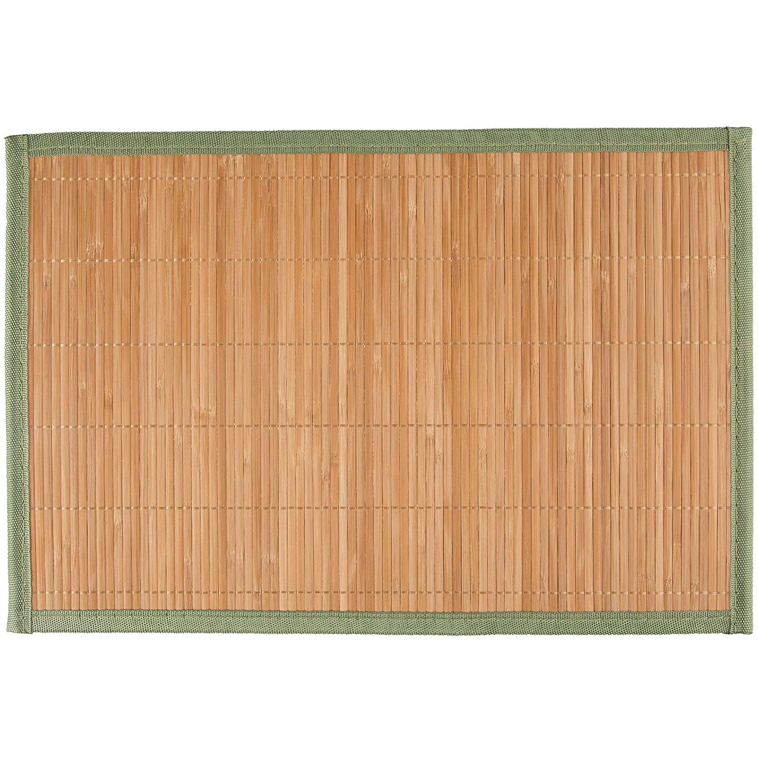 Levivo Place Mats made of Bamboo, Beige, Set of 4 SET128687