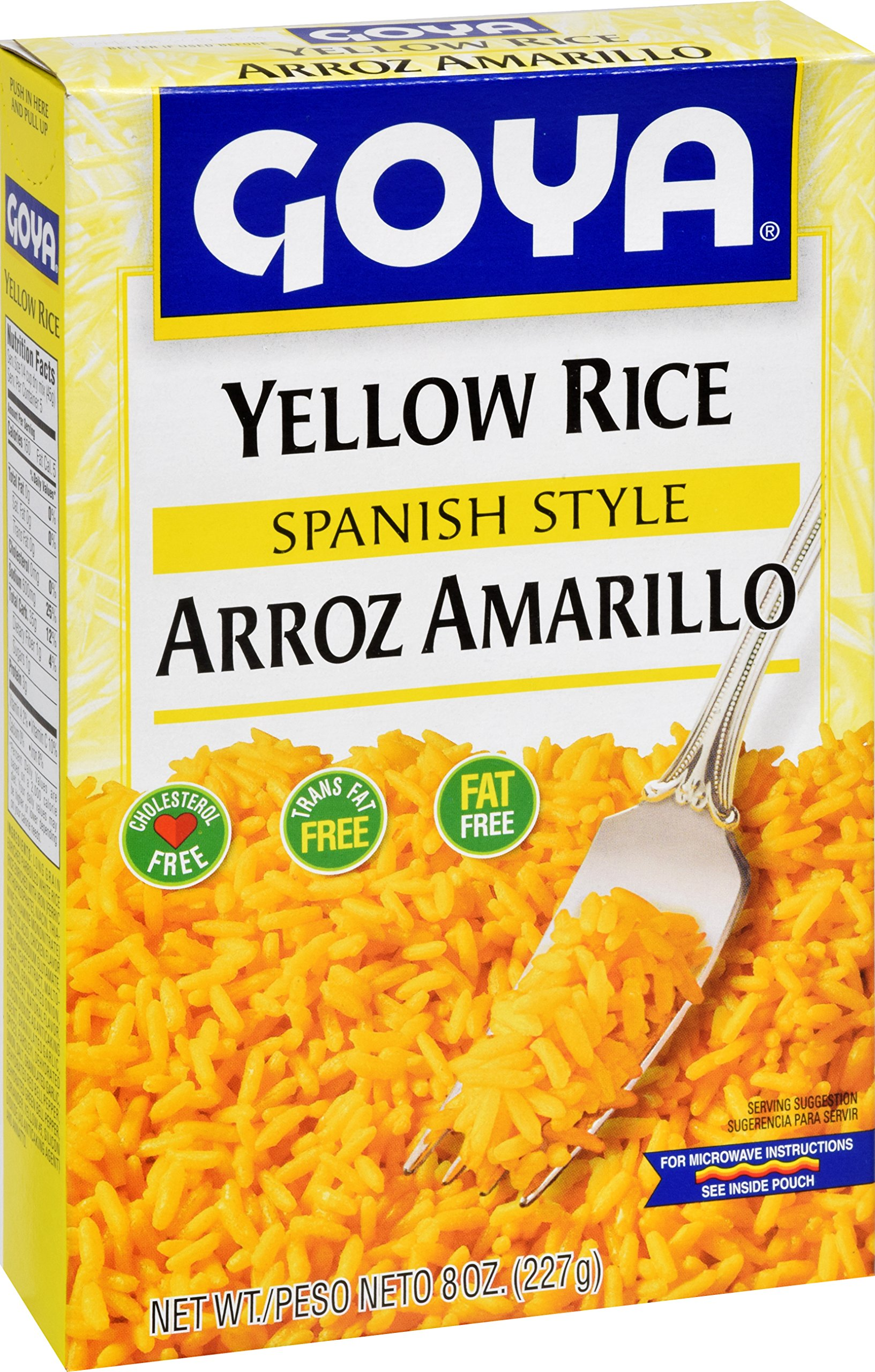Goya Foods Yellow Rice Mix, 8-Ounce (Pack of 24) by Goya