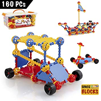 200 Pcs//Set Plastic Building Blocks Kids Toy New Puzzle Educational Learning MX