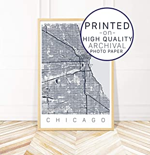 Amazon.com: GREATBIGCANVAS Poster Print Enled Low Angle ... on chicago botanical garden map, chicago food map, chicago aquarium map, chicago jazz festival map, chicago hotel map, chicago forest preserve map, chicago community map, chicago theatre, chicago neighborhood map, chicago beach map, chicago tour map, rush street map, chicago parks map, chicago travel map, chicago water tower map, chicago satellite map, museum of science and industry map, chicago location on map, chicago city hall map, chicago blues clubs map,