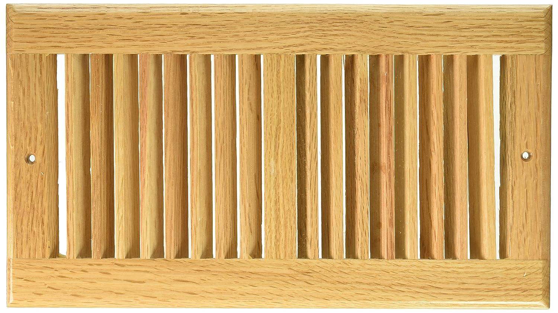 Amazon.com: Decor Grates WL612R-N 6-Inch by 12-Inch Wood Return Air ...