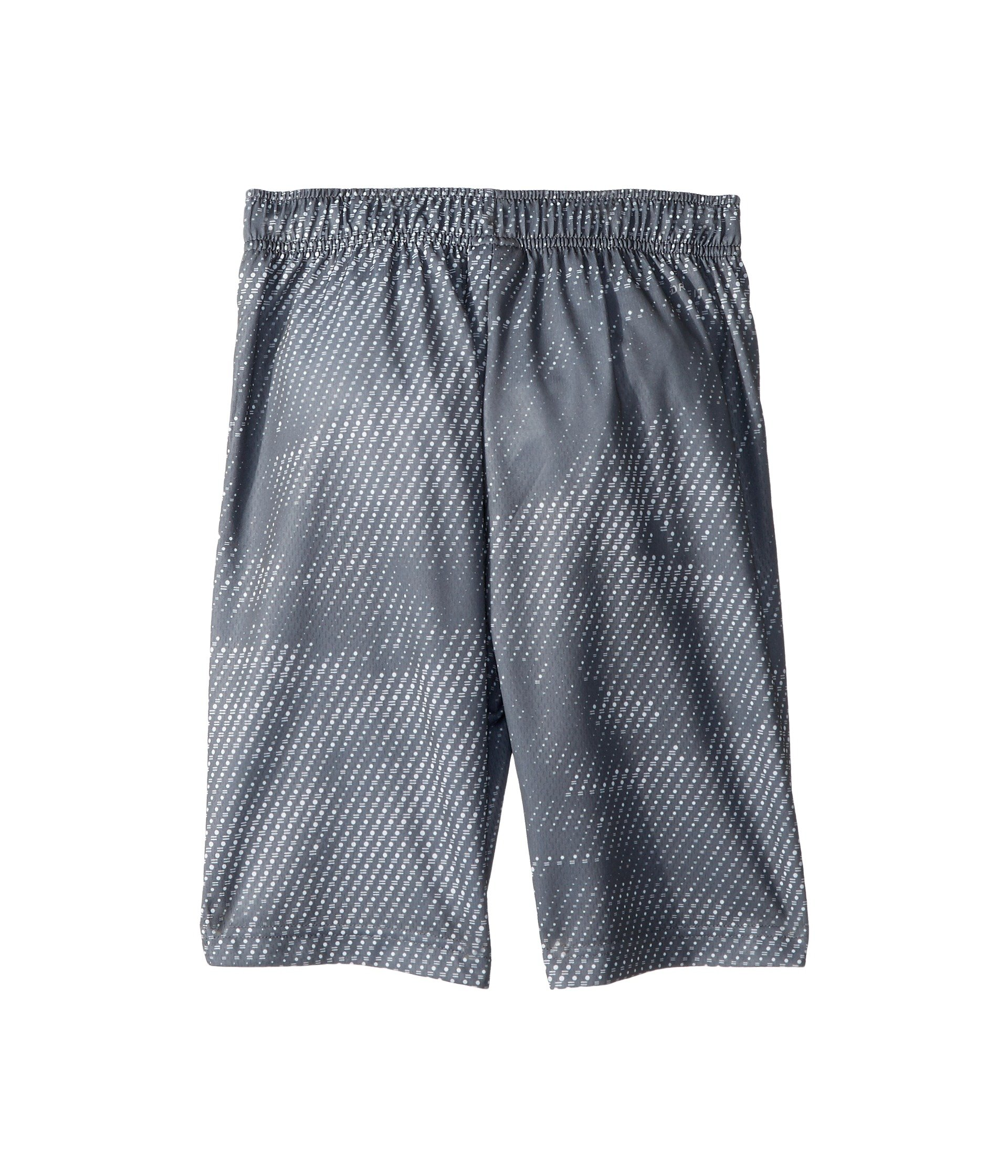 Nike Boy's Athletic Dry Printed Fly Comfortable Elastic Training Shorts with Pockets (Cool Grey/X-Small) by Nike (Image #3)
