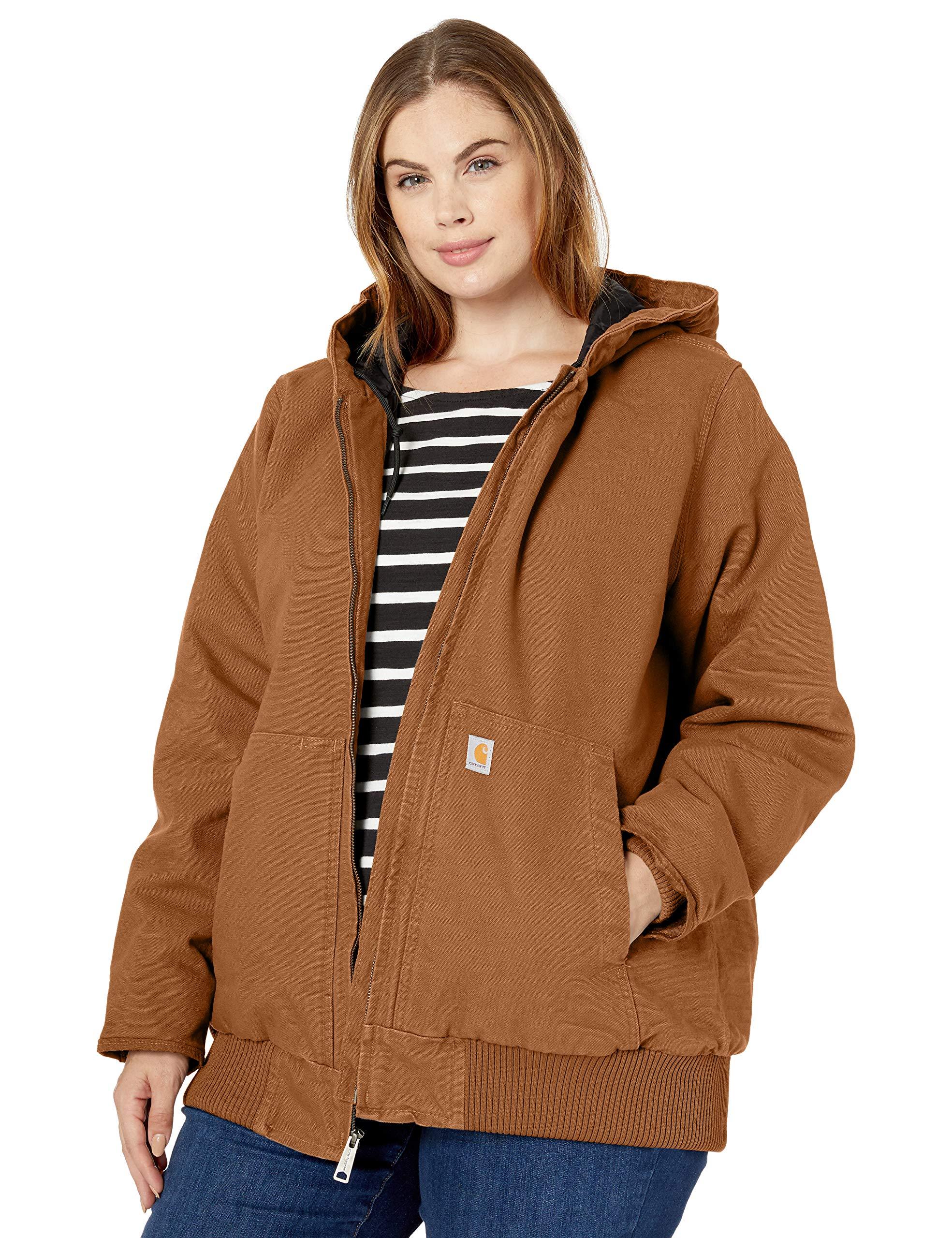 Carhartt Women's Active Jacket Wj130 (Regular and Plus Sizes)