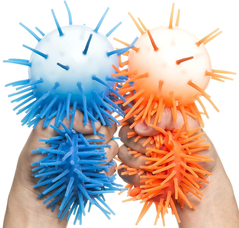 KELZ KIDZ Premium Quality Large /& Thick Puffer Balls for Fun Kids Party Kelz /& Co. Set of 12