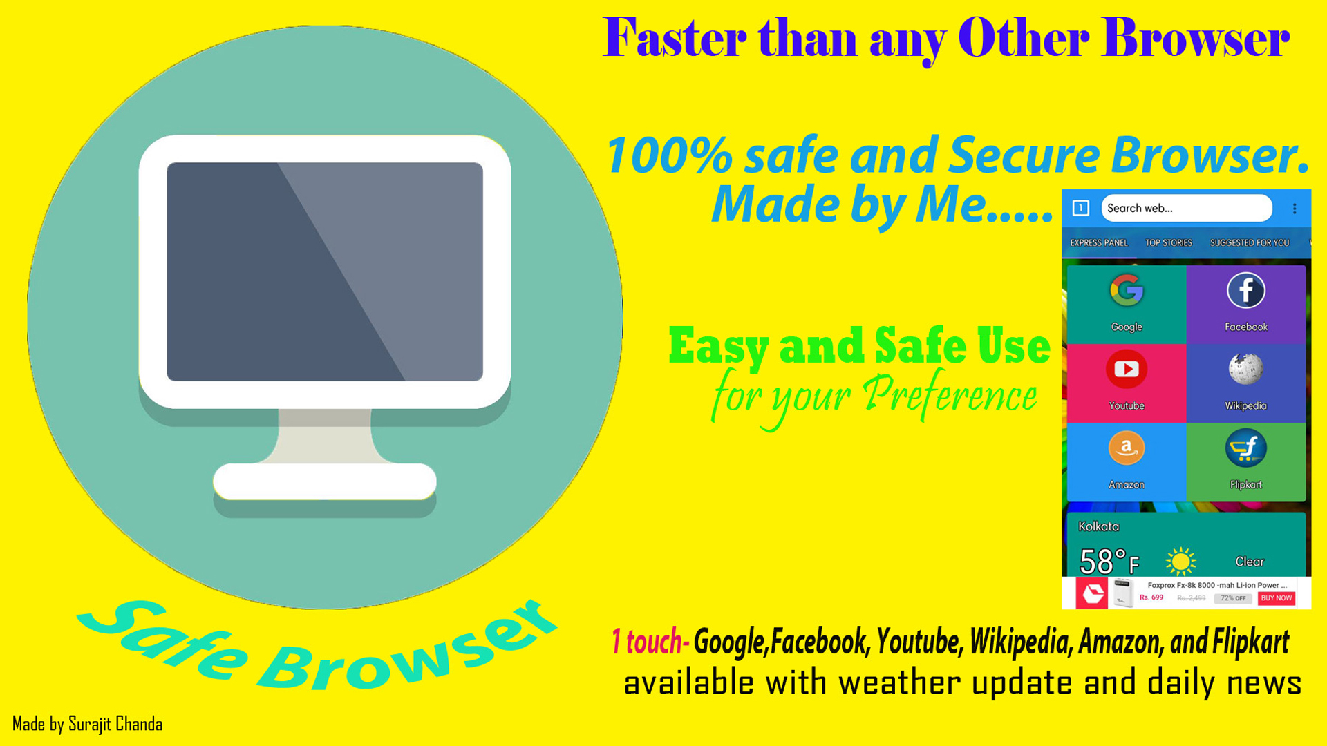 Safe Browser: Amazon.es: Appstore para Android