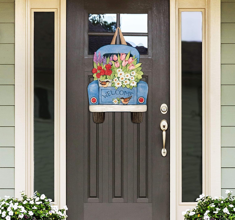 Flower pickin' time indoor/outdoor door decor