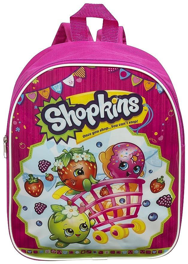 Shopkins Junior – Mochila para niña rosa rosa talla única niño: Amazon.es: Juguetes y juegos