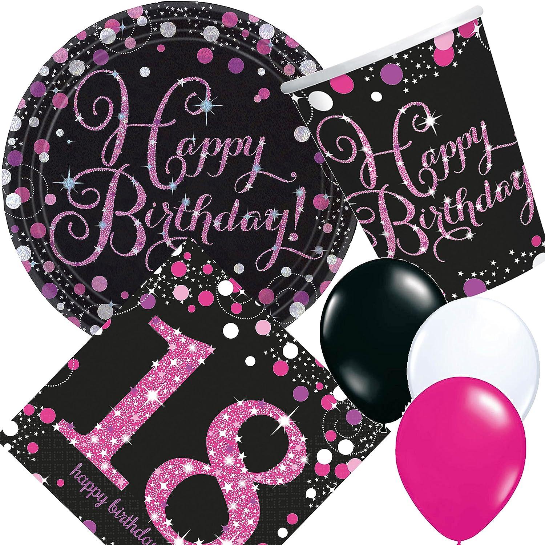 33 Piezas Party * rosa Sparkling Celebration * para el 18º ...