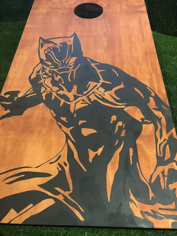 Black Panther Cornhole Board