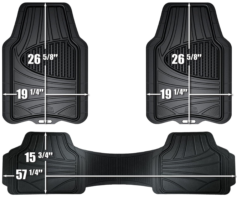 Connected Essentials 5021290 Grey with Grey Trim Tailored Heavy Duty Custom Fit Car Mats Suzuki Swift 2012