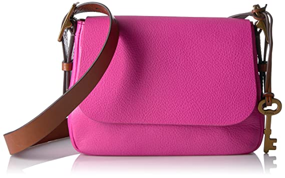 Fossil Harper Small Crossbody, Hot Pink: Handbags: Amazon.com