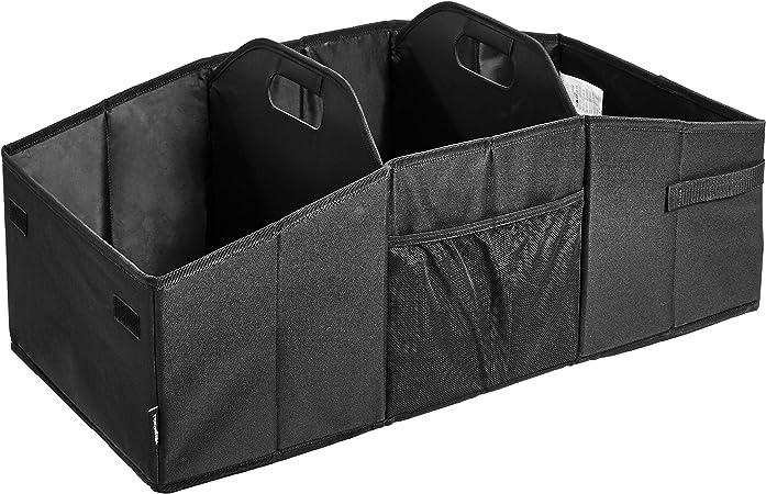 Amazon Basics Faltbarer Kofferraum Organizer Für Pkw Suv Und Lkw Schwarz Auto