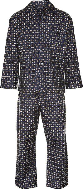 Mens Brushed Cotton Pyjamas Four Sizes.