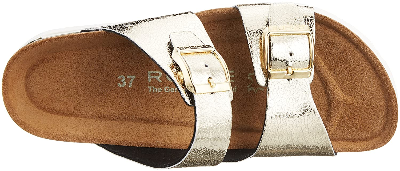Rohde Damen Rosio Rosio Damen Pantoletten Gold (Gold) 566097