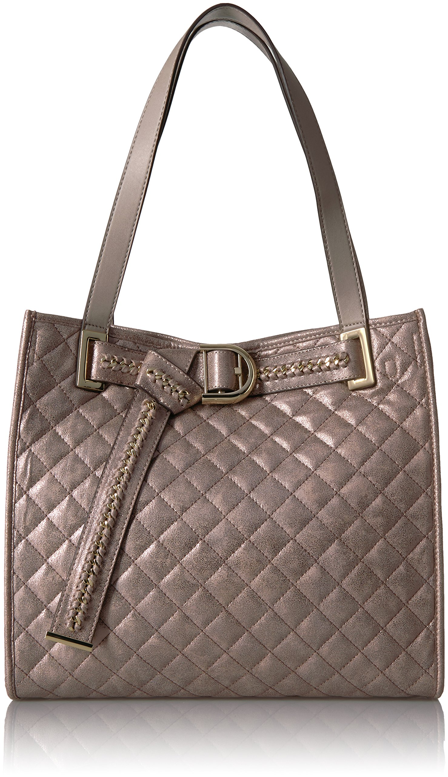 Calvin Klein Nola Quilted Distressed Belted Tote by Calvin Klein (Image #1)