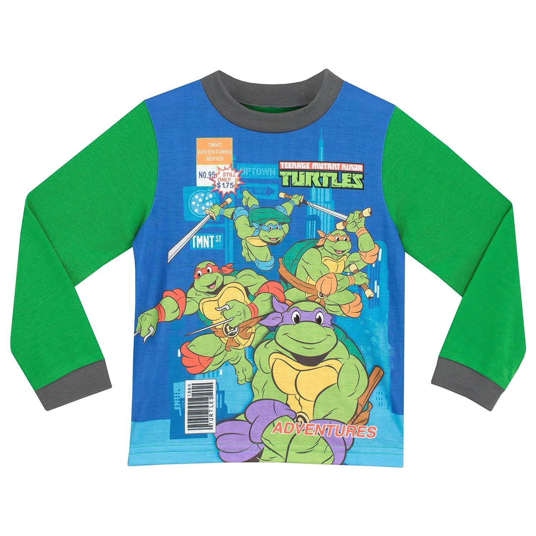 Teenage Mutant Ninja Turtles - Pijama para Niños - Las Tortugas Ninja - 6 - 7 Años