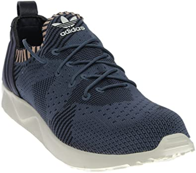64dc69d0c ADIDAS WOMEN ORIGINALS ZX FLUX ADV VIRTUE PRIMEKNIT SHOES - BB4265 - (SZ   10)  Amazon.co.uk  Shoes   Bags