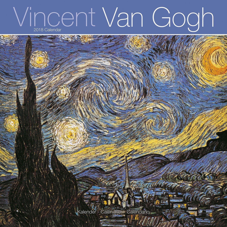 van gogh calendar vincent van gogh calendar calendars 2017 2018 wall calendars art calendar van gogh 16 month wall calendar by avonside