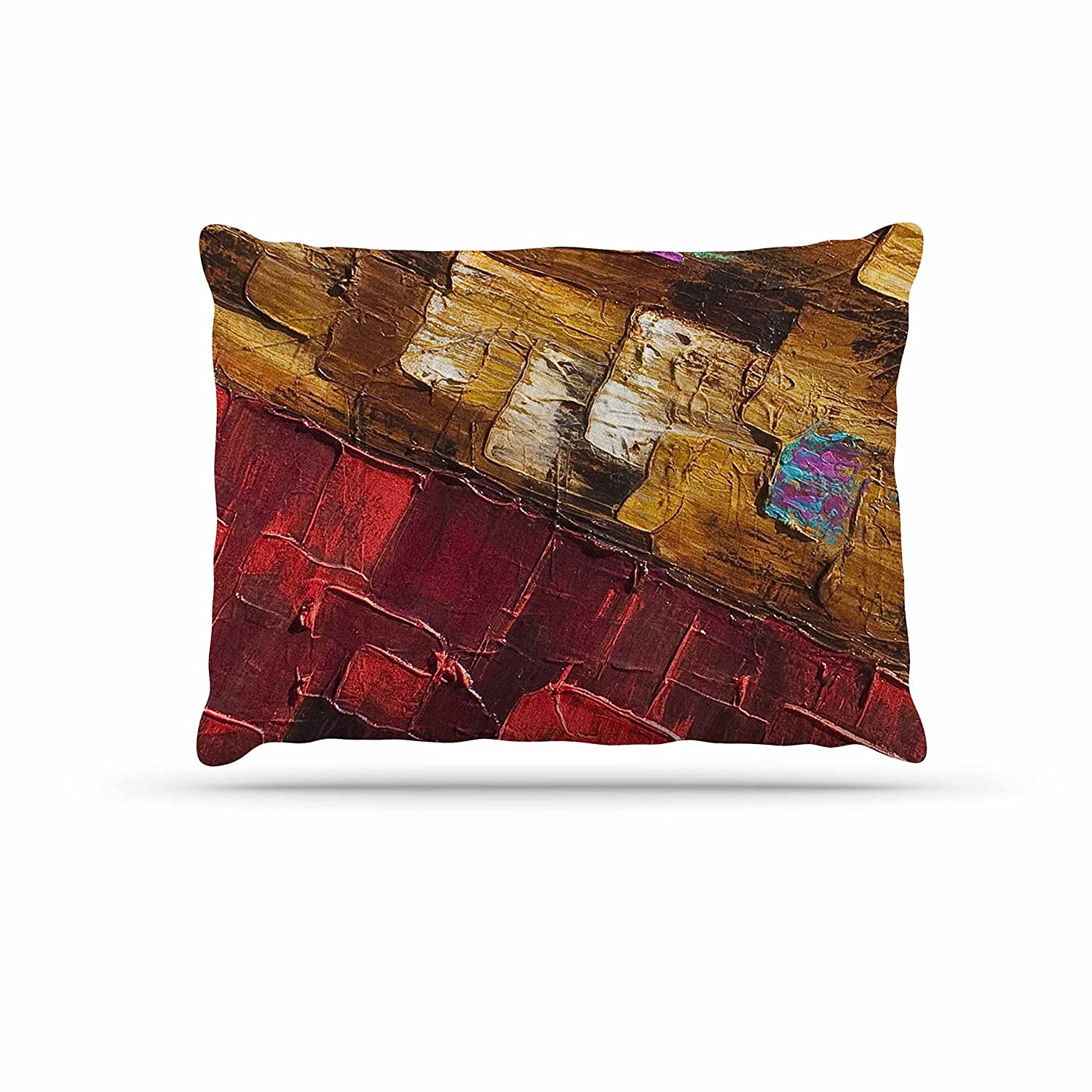 KESS InHouse Stacey-Ann Cole Wise Words People Ethnic Dog Bed, 50  x 40