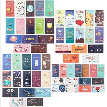 Caja de almuerzo Notas - Romántico e inspirador tarjetas de notas ...
