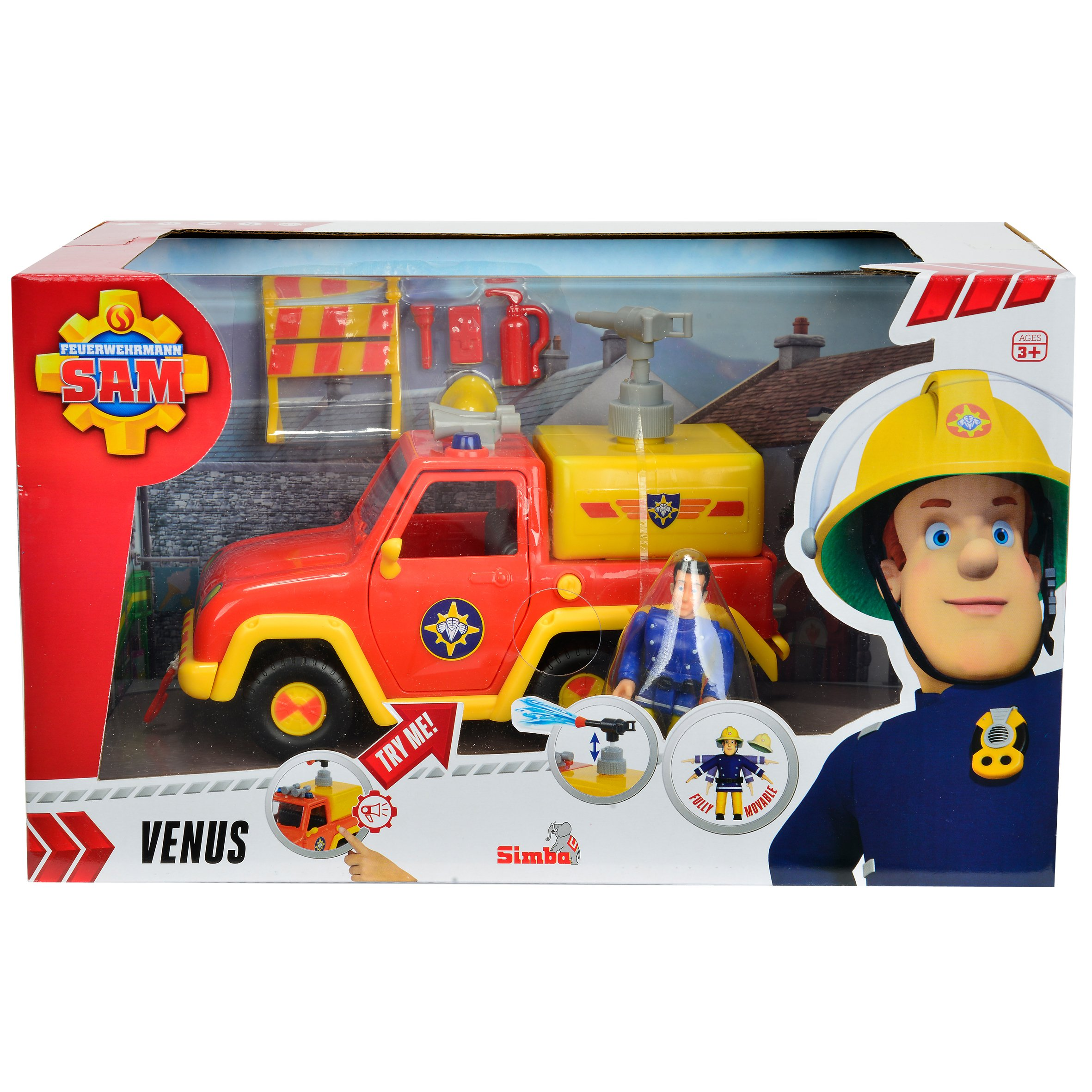 Fireman Sam - Fire Engine Venus [Amazon Exclusive]