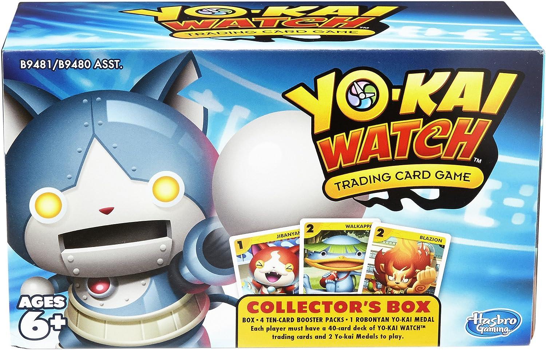 Amazon Com Yokai Watch Trading Card Game Collector S Box Hasbro Toys Games