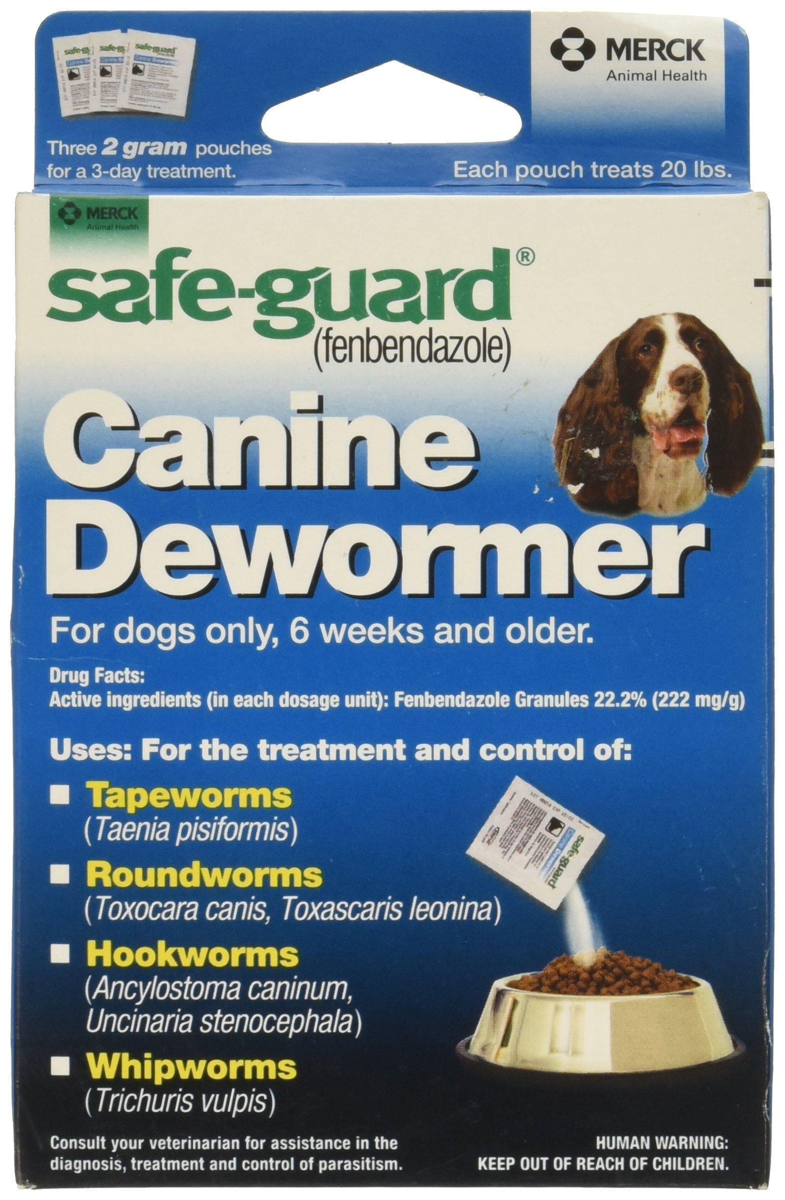 MERCK AH EQUINE D Merck Animal Health Safe Guard Canine Dewormer by MERCK AH EQUINE D (Image #1)