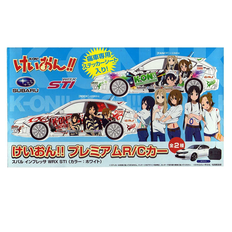 K-ON! ! Premium R / C Car Subaru Impreza WRX STI all Weiß set of 2 (japan import)