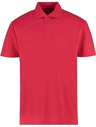 KUSTOM KIT KK422 - Polo de Trabajo Unisex (Corte Regular) - Rojo ...